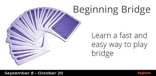Beginning Bridge  9/8-10/20