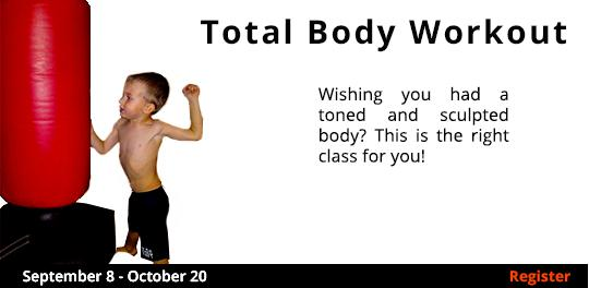 Total Body Workout  9/8-10/20