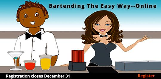 Bartending the Easy Way--Online