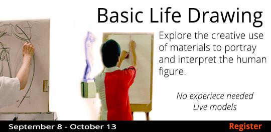 Basic Life Drawing  9/8-10/13