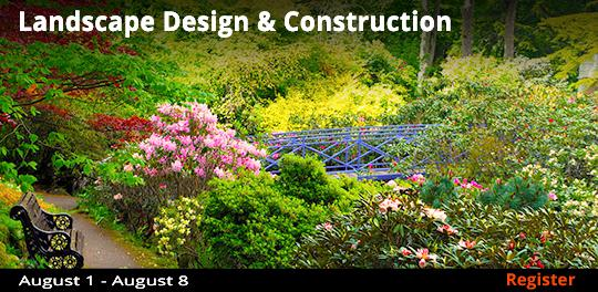Landscape Design & Construction  8/1-8/8