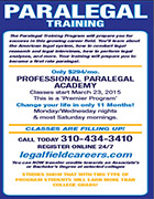 paralegal training program