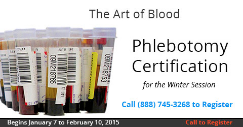 Phlebotomy, Jan 7, 2015