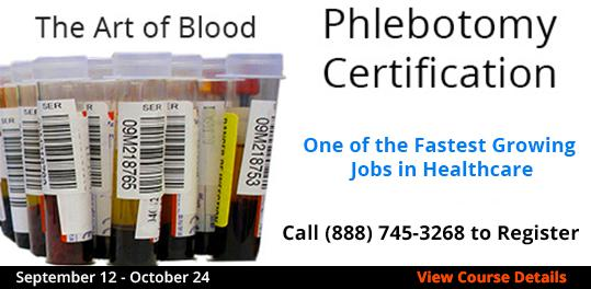 Phlebotomy Certification  9/12-10/24