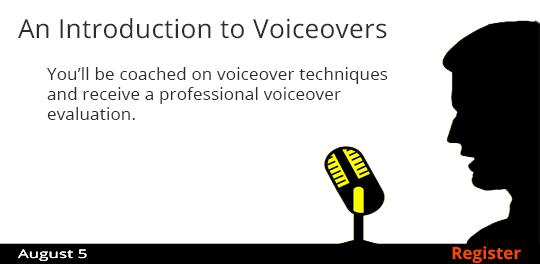 An Introduction to Voiceovers   8/5