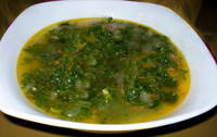 Kale and Potato Sausage Soup