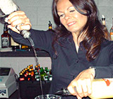 Bartending instructor Kellie Nicholson