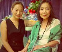 Alice Meyering with Kazuko