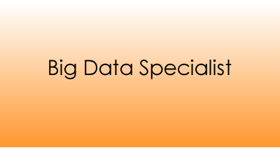 Big Data Specialist