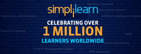 Simplilearn - 1 million Learners worldwide