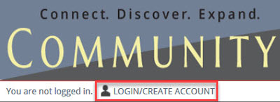 Login/Create Account icon-link