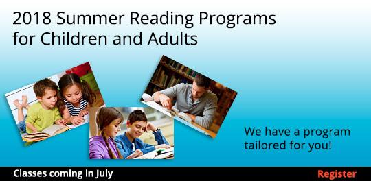 2018 Summer Reading Program