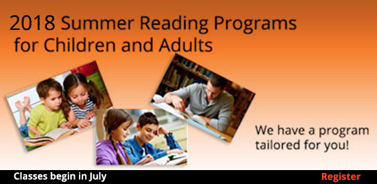 2018 Summer Reading Program