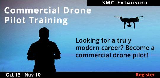 Commercial Drone Pilot Training Certification - 10/13 - 11/10