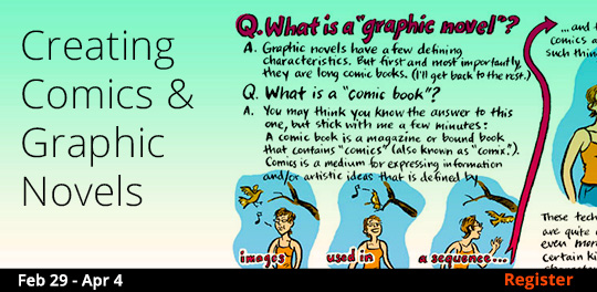 Creating Comics & Graphic Novels, 2/29/2020 - 4/4/2020