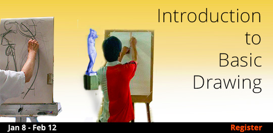 Introduction to Basic Drawing, 1/8/2020 - 2/12/2020