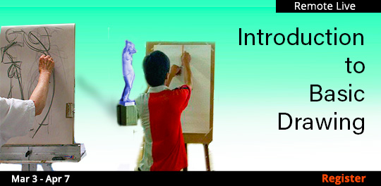Introduction to Basic Drawing, 03/03/2021 - 04/07/2021