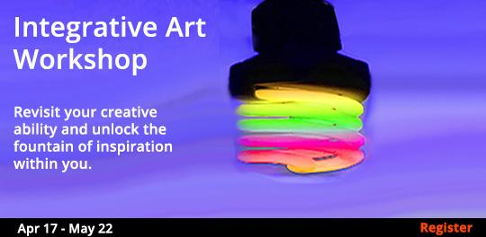 Integrative Art Workshop, 4/17/2019 - 5/22/2019