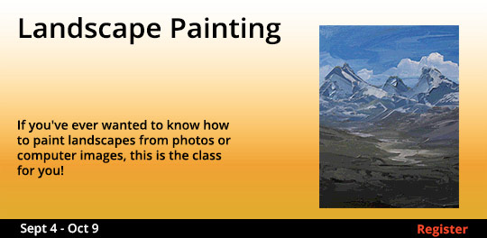 Landscape Painting, 9/4/2018 - 10/9/2018