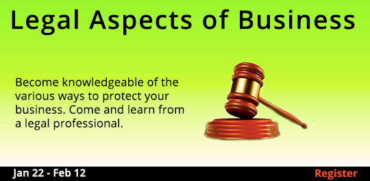 Legal Aspects of Business, 1/22/2020 - 2/12/2020