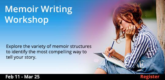 Memoir Writing Workshop, 2/11/2019 - 3/25/2019