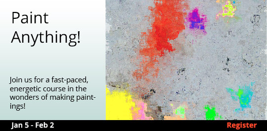 Paint Anything!, 1/5/2019 - 2/2/2019