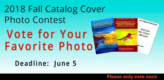 2018 Fall Catalog Cover Photo Contest Ballot- deadline June 5