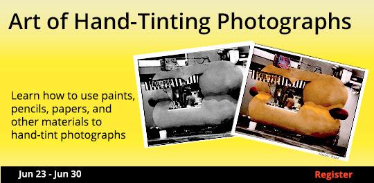 Hand Coloring Photos, 6/23/2018 - 6/30/2018