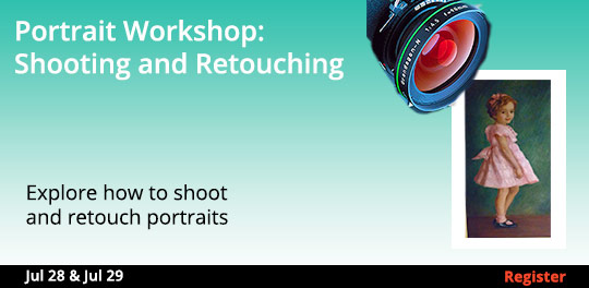Portrait Workshop: Shooting and Retouching, 7/28/2018 - 7/29/2018