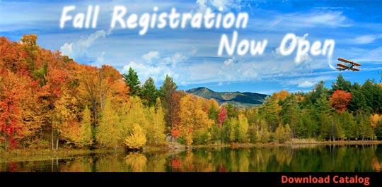 Fall 2020 Registration now open!