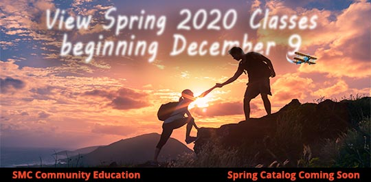 Spring 2020 Classes List Preview Available Beginning Dec. 9