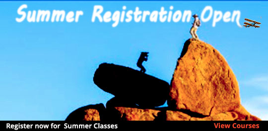 Summer 2019 Registration begins April 15