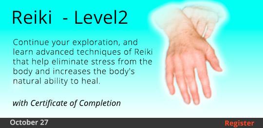 Reiki - Level 2, 10/27/2018