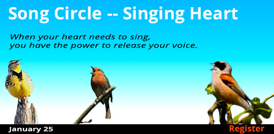 Song Circle -- Singing Heart, 1/25/2020 - 1/25/2020