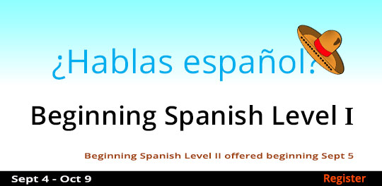 Beginning Spanish - Level 1, 9/4/2018 - 10/9/2018