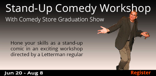 Stand-Up Comedy Workshop, 6/20/2018 - 8/8/2018