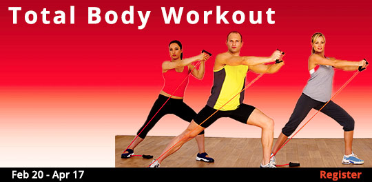 Total Body Workout, 2/20/2019 - 4/17/2019