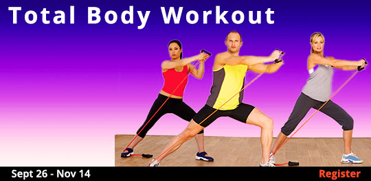 Total Body Workout, 9/26/2018 - 11/14/2018