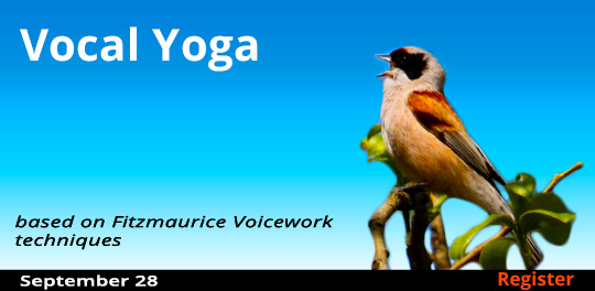 Vocal Yoga, 9/28/2019