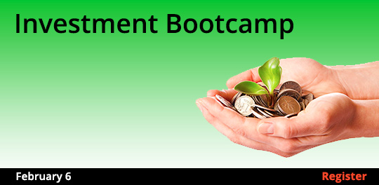 Investment Bootcamp, 2/6/2018