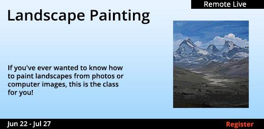 Landscape Painting (Remote Live) 06/22/2021 07/27/2021