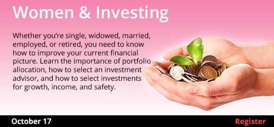 Women & Investing, 10/17/2019