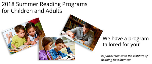 2018 Summer Reading Programs - Children and Adults. We have a program tailoredfor you!