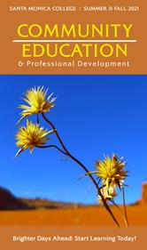Summer - Fall 2021 SMC Community Education Catalog (PDF)