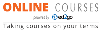 Visit our online site in partnership with ed2go Online Courses - Taking courses on your terms