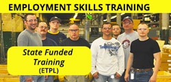 Employment Skills Training - State Funded Training