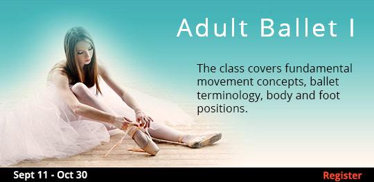 Adult Ballet I  9/11/2017 - 10/30/2017