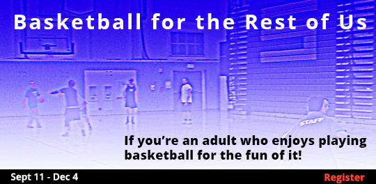 Basketball for the Rest of Us 9/11/2017 - 12/4/2017