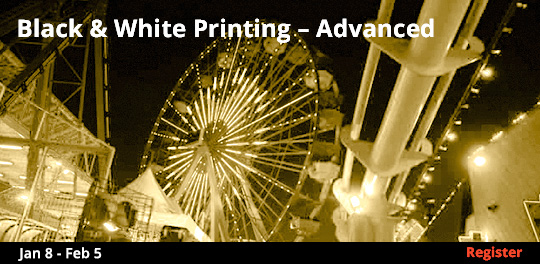 Black & White Printing - Advanced   1/8 - 2/5