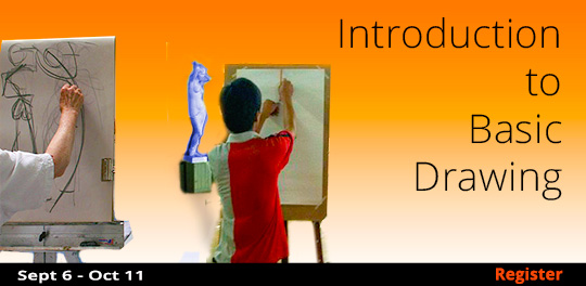 Introduction to Basic Drawing 9/6/2017 - 10/11/2017